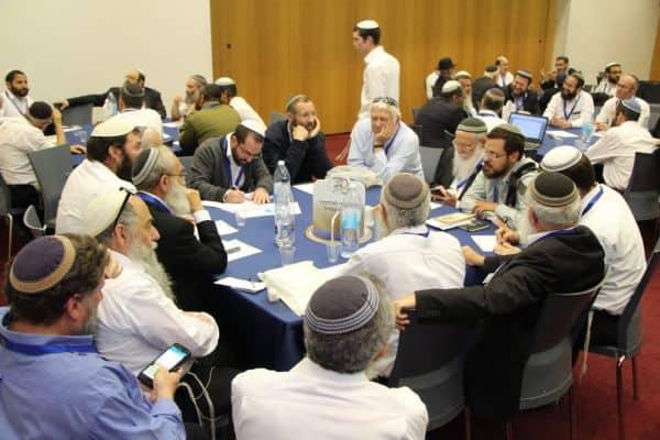רבנים בכנס האחדות