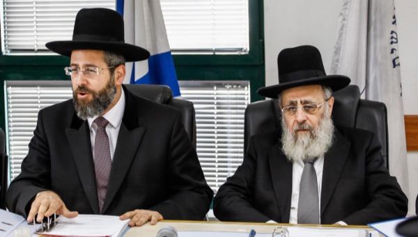 הרבנים הראשיים. עוד מאותו הדבר