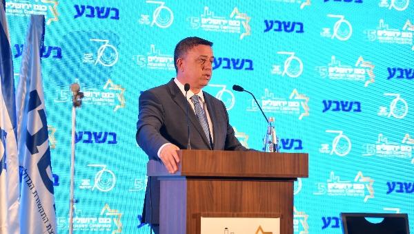 אבי גבאי בכנס ירושלים