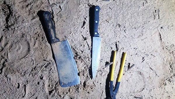 הסכינים שנתפסו
