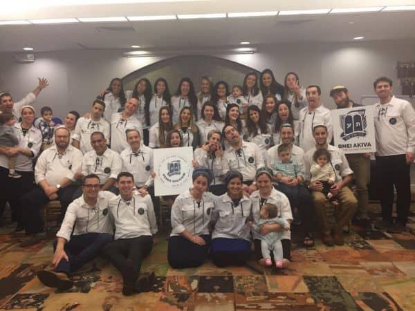 שליחי צפון אמריקה בטקס הדלקת המשואות האלטרנטיבי