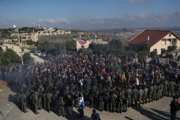כוחות הביטחון בנתיב האבות