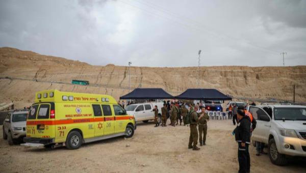 כוחות ההצלה בחילוץ בנחל צפית