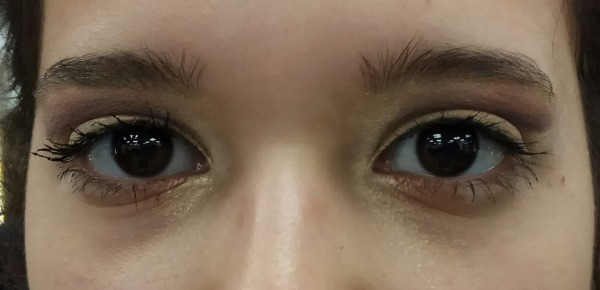 איפור מתקן מעל העין, לעין שקועה