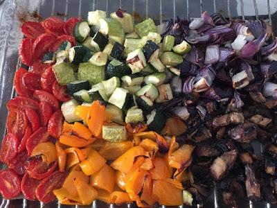 מגש ירקות צלויים