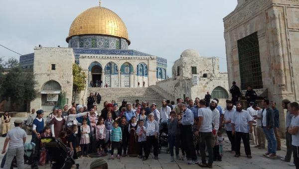 """עליית משפחות להר הבית לזכרה של הלל אריאל ז""""ל"""