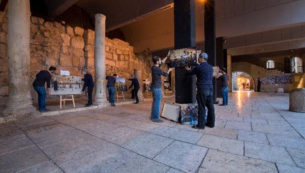 תערוכה דוד ושריה דיאמנט