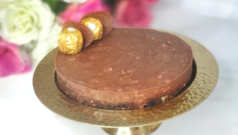 עוגת שוקולד כהה