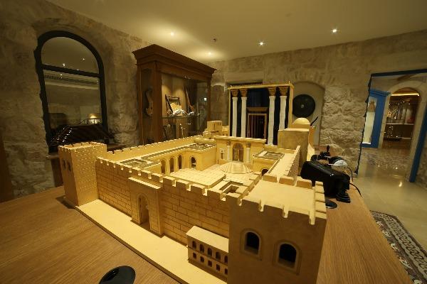 חלל המקדש במוזיאון המוזיקה העברי