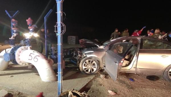 התאונה בכביש 40 שבה נהרג אלמקייס אחרי התנגשות עם גמל
