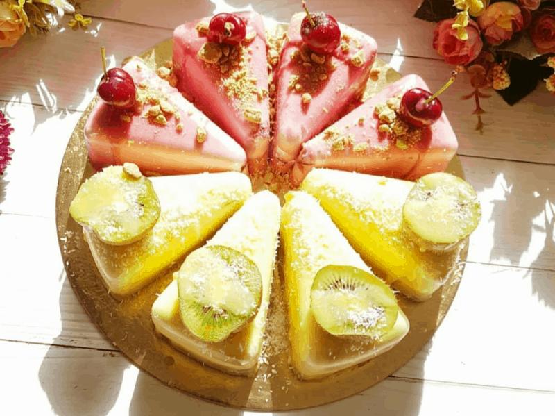 עוגת גבינה עם הפתעת ג