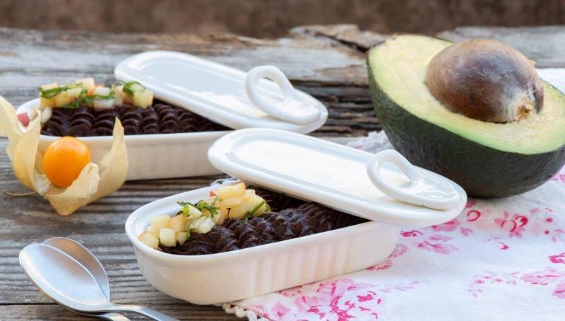 מוס שוקולד אבוקדו