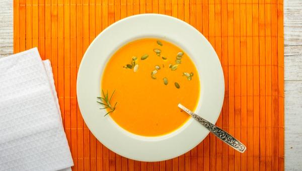 מרק בטטות ותפוזים