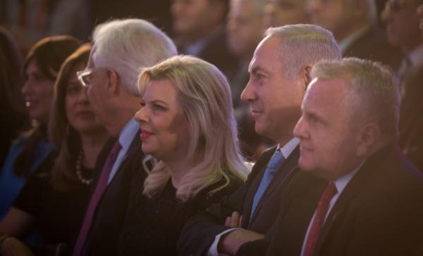ראש הממשלה ורעייתו בטקס