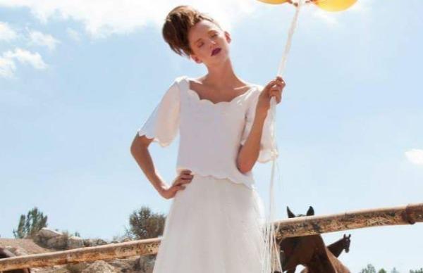 שמלה של המעצבת מיה פוואה לבלוג כלות עם שיק