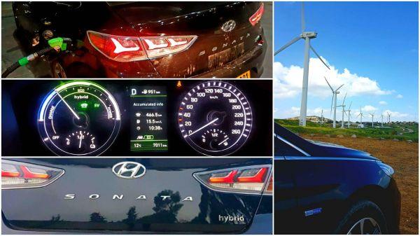 """צריכת דלק מרשימה של 17 ק""""מ לליטר וטווח של 951 ק""""מ למיכל דלק"""