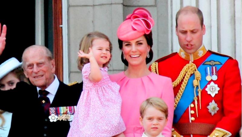 הנסיכה שארלוט והוריה