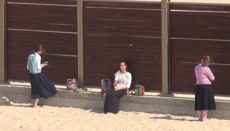 החוף הנפרד בתל אביב