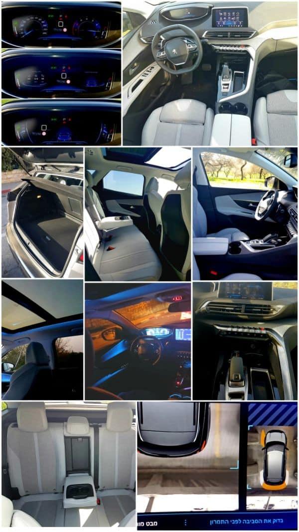 תא נוסעים ברמה של רכב פרמיום ואבזור נוחות ובטיחות עשיר