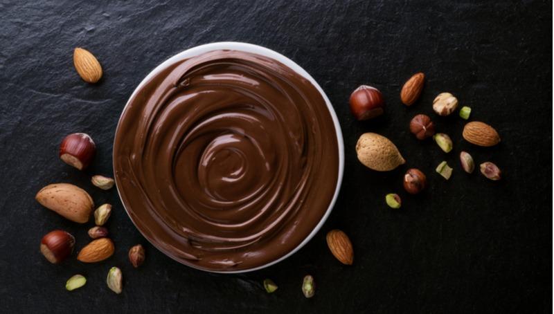 קרם שוקולד אגוזים