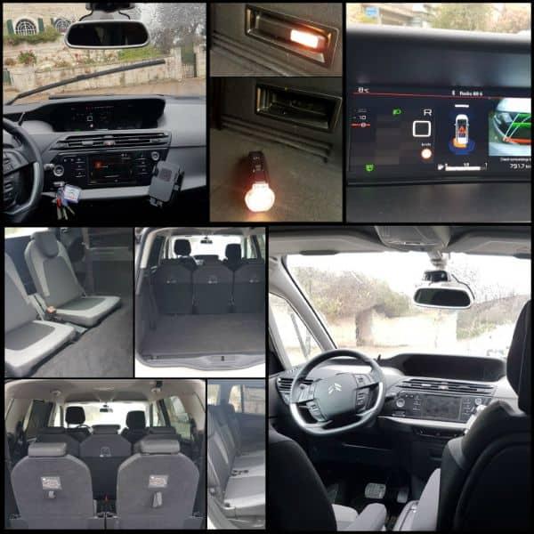 מדהים ביקורת רכב - סיטרואן C4 גראנד-פיקאסו | כיפה ZL-76