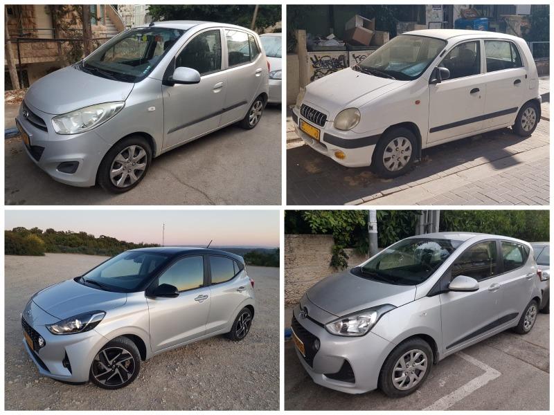 אטוס ושלוש דורות i10 – מכוניות המיני של יונדאי בישראל