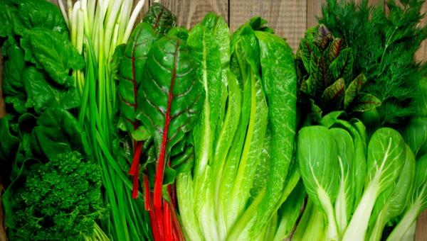 ירקות עליים