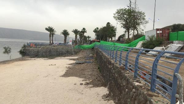 החוף הנפרד לאחר השיפוץ