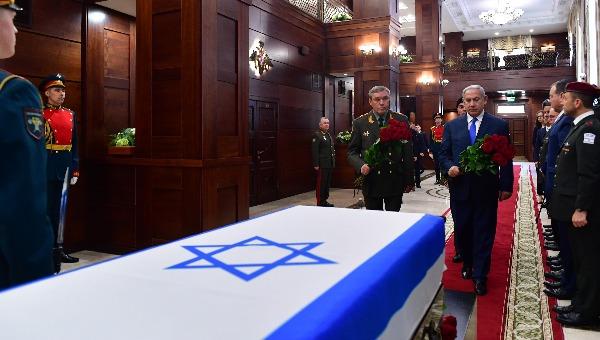 נתניהו בטקס ברוסיה
