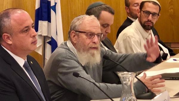 """הרב יואל בן-נון וח""""כ חיליק בר"""