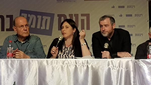 שמעון ריקלין וסגנית השר ציפי חוטובלי