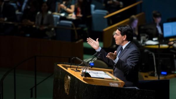 """שגריר ישראל באו""""ם דני דנון"""