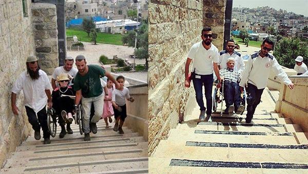 יעזור גם למבקרים המוסלמים וגם ליהודים | מערת המכפלה