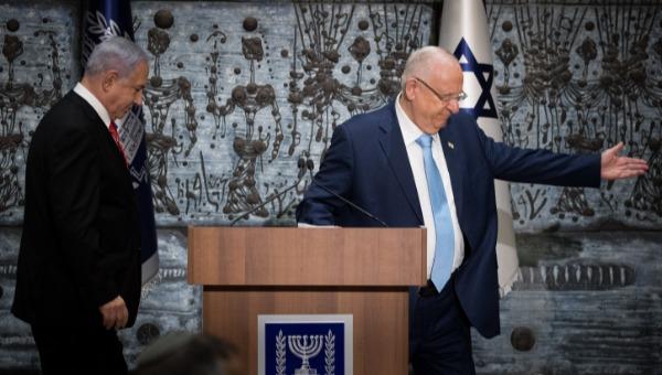 נשיא המדינה ראובן ריבלין וראש הממשלה בנימין נתניהו