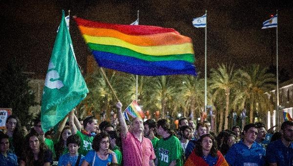 הפגנה של הקהילה הגאה בירושלים. ארכיון