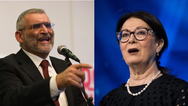 """הנשיאה אסתר חיות והד""""ר מיכאל בן ארי"""