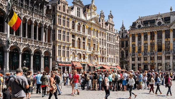 רחובות בריסל בבלגיה