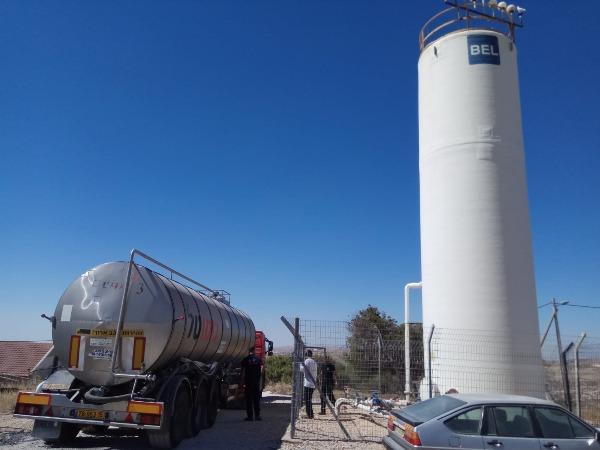 גניבות מים באזור הר חברון