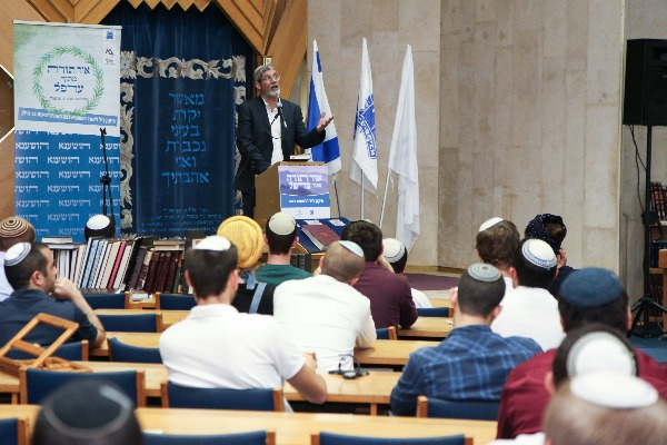הרב שלמה שפר רב הקמפוס של אוניברסיטת בר- אילן
