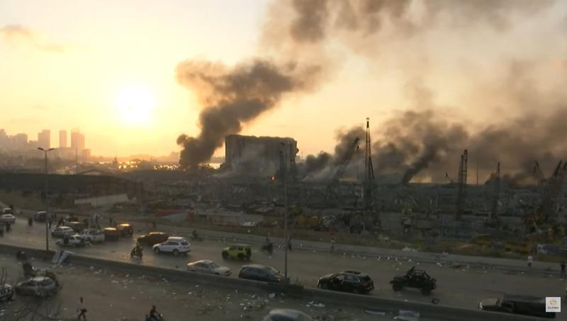 מראות ההרס בלבנון