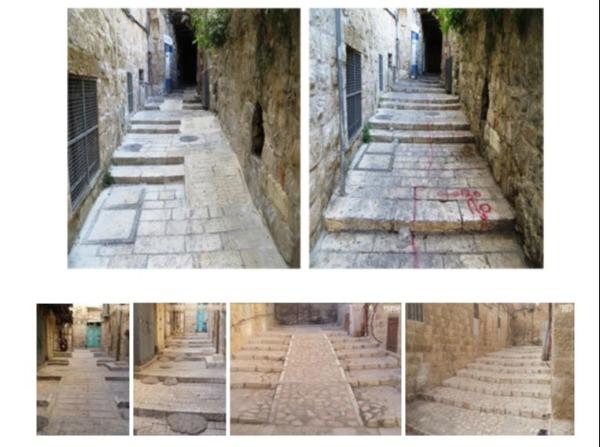 סמטאות בירושלים - לפני ואחרי