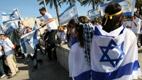 ריקוד הדגלים ביום ירושלים