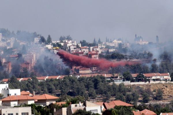 שרפה במבשרת ציון, קיץ 2012