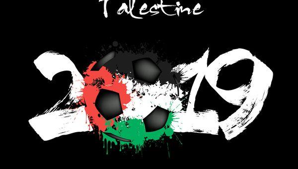 לוגו נבחרת פלסטין לקראת אליפות אסיה