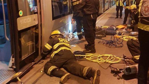 נסיונות החילוץ ברכבת הקלה