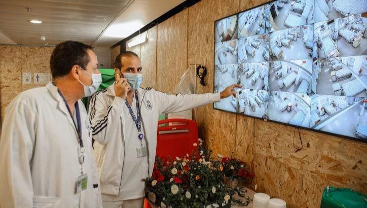 מחלקת הקורונה במרכז הרפואי זיו בצפת