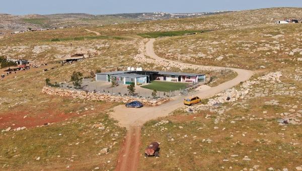 בית הספר שנבנה בשמורת הטבע