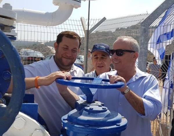 אחרי 3 שנים: גז טבעי ביהודה ושומרון