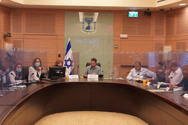 הדיון בוועדת החינוך של הכנסת