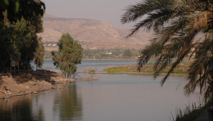 הכנרת מכיוון סכר דגניה
